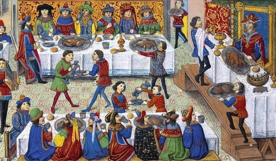 Srpska kuhinja u srednjem veku
