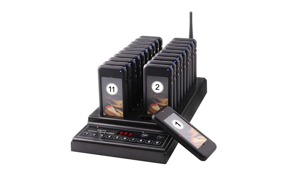Najsavremeniji sistem za bežično pozivanje gostiju.