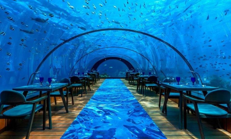 """Neobični restorani - Podvodni restoran """"Ithaa"""""""