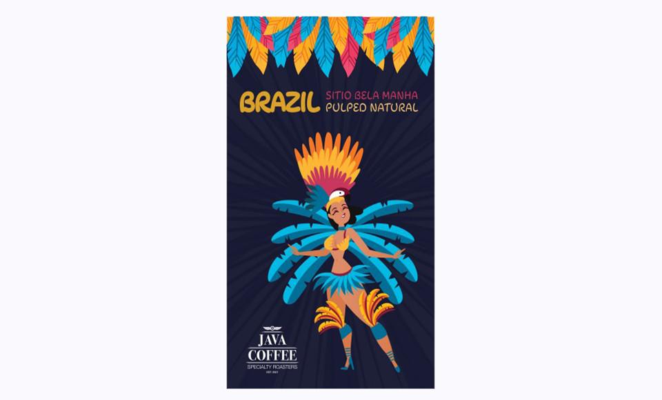 JAVA ESPRESSO KAFA BRAZIL 1KG