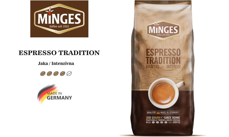 MINGES ESPRESSO KAFA TRADITION 1KG