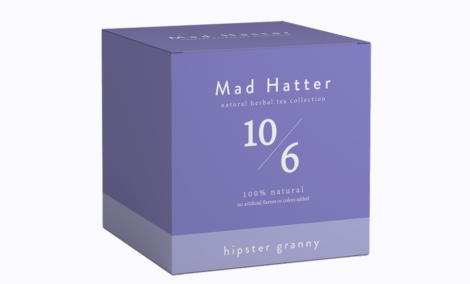 MAD HATTER HIPSTER GRANNY