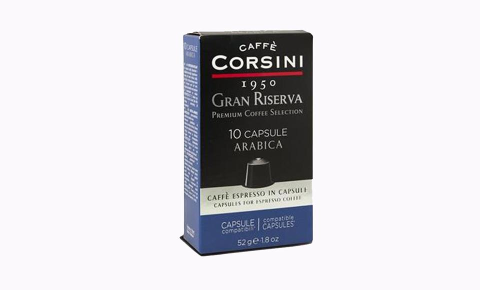 CAFFE CORSINI GRAN RISERVA ARABICA KAPSULE 10 KOM