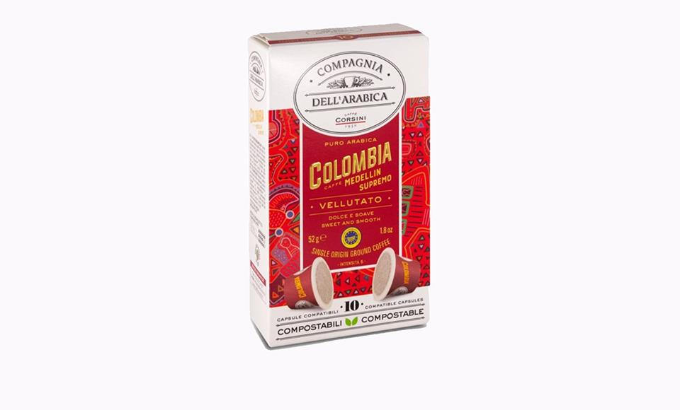 CAFFE CORSINI COLOMBIA MEDELLIN SUPREMO KAPSULE 10 KOM