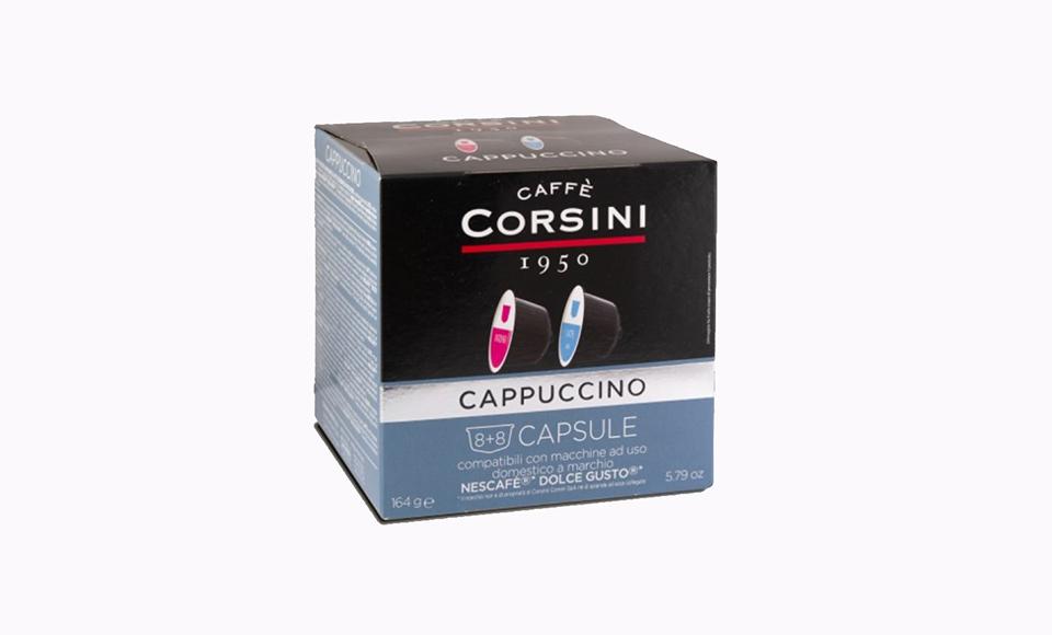 CAFFE CORSINI CAPPUCCINO KAPSULE 16 KOM