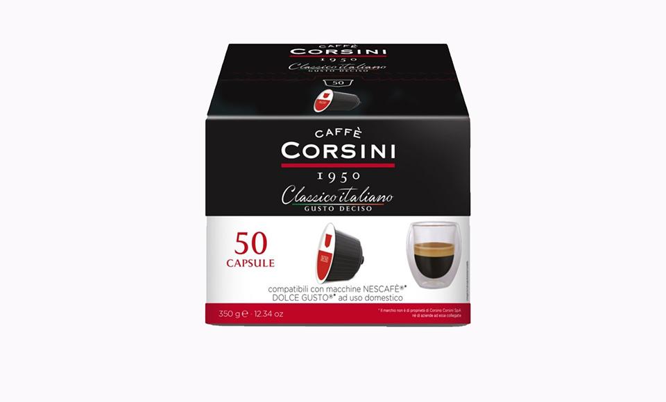 CAFFE CORSINI CORSINI CLASSICO ITALIANO KAPSULE 50 KOM
