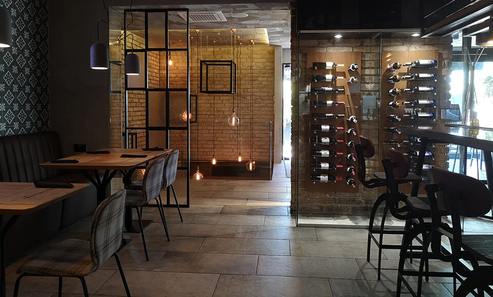 Vinolux - opremanje restorana 10